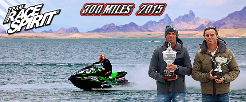 Mark Hahn IJSBA 300 miles 2015